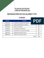 Silabus Curso Presencial Reparacion de Celulares y Pcs