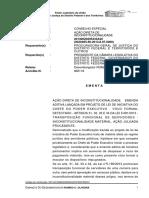 Transposição funcional inconstitucionalidade