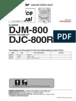 pioneer_djm-800 service manual