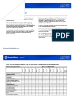 12-Month Cash Flow Statement Worksheet