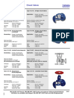 CheckValves Table