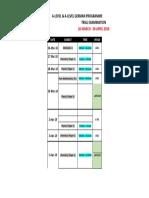 Timetable_alevel & Alg Trial Exam (26mac-6april2018)