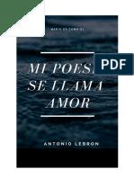 Mi Poesia Se Llama Amor.