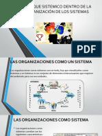 Enfoque Sistemico en Las Organizaciones