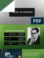 Teoria de Sistemas Ppt1 Oficial