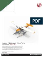Cessna 172 PaperCraft