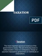 Taxation (1)