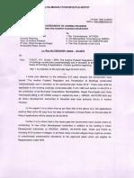 Lr Roc No 750-2019-P-AP Regulation and Penilizatoin of Bldgs