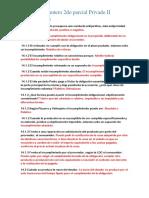 Preguntero 2do Parcial Privado II 9-4