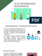 Ejemplos de Enfermedades Profesionales
