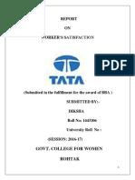 TATA MOTOTRS WORKER SATISFACTION.docx