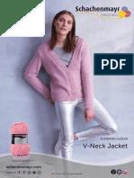 V Neck Jacket