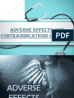 Adverse Effects and Contraindications of Nsaids