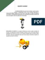 Equipo Ligero Materiales y Procesos contructivos