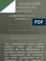 COMPONENTES DEL CONCRETO  MS ING ISABEL MOROMI.pdf