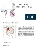 Hemorragia Intracraneal (HIC)