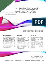 Sesion 4. Paradigmas en La Investigación