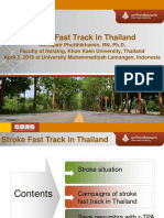 Stroke Fast Track in Thailand