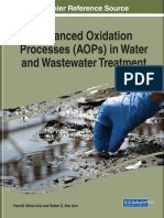Advanced Oxidation Processes (AOPs) in Water and Wastewater Treatment (2018)