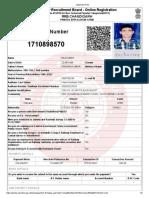 Applicant Print RRB