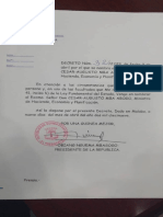 Decreto32. Nombramiento
