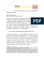 La Lucha Contra El Fraude Del Iva en Las Operaciones Intracomunitarias