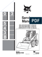 BOBCAT 543B SKID STEER LOADER Service Repair Manual SN 511111001 & Above.pdf