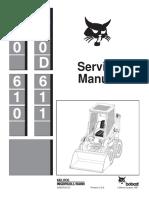 BOBCAT 600 SKID STEER LOADER Service Repair Manual.pdf