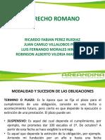 Diapositivas Derecho Romano