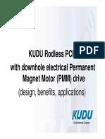 Presentacion Kudu Rodless Pcp