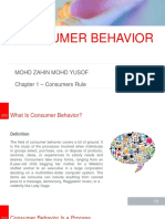 Consumer Behaviour CH 1