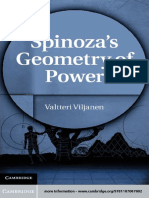 Valtteri Viljanen-Spinoza's Geometry of Power-Cambridge University Press (2011).pdf