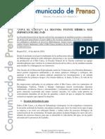 Boletín de la Fiscalía sobre el río Cauca