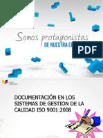 Documentación Sistema de Gestión de Calidad 20160415