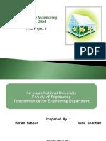 Greenhouse Monitoring Using Gsm