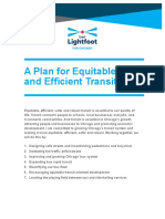 Lightfoot Transit Policy