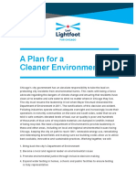 Lightfoot Environmental Policy