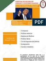 Políticas de Donald Trump(Sección 1) 2019