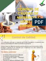 Control Calidad de Los Materiales
