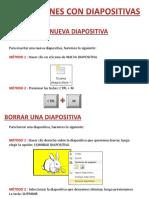 Operaciones Con Diapositivas