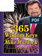 365 Wisdom Keys of Mike Murdock - Mike Murdock