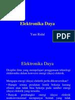 Elektronika Daya (Kuliah)