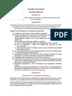 Jornadas y Descansos — Derecho laboral chileno
