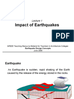 impact of earthquake on buildings