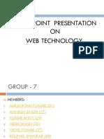 web ppt