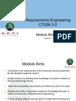 Week 1 - Lecture 1. Module Briefing