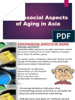 Psychosocial Aspects of Aging (Elective 2)