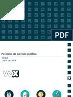 CUT-VOX – 70% dos brasileiros estão insatisfeitos com o Brasil