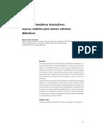 Marta Somoza Fernandez Tutoriales Tematicos Interactivos (Nuevos Modelos Para Nuevos Entornos Didacticos) 2003