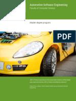 Automotive Software Engineering Master Engl